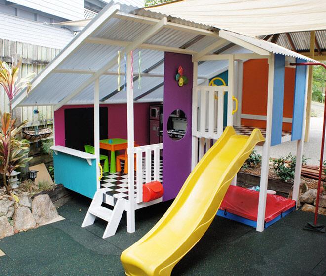 Mega Triplex Cubby House