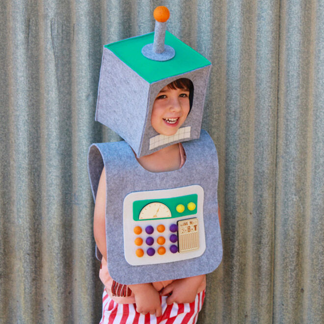 Mini Mad Things robot costume