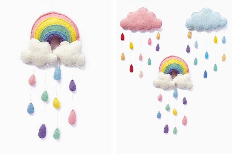 Nana Huchy Rainbow Wall Hanging