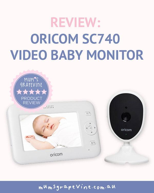 Oricom SC 740 Baby Monitor review