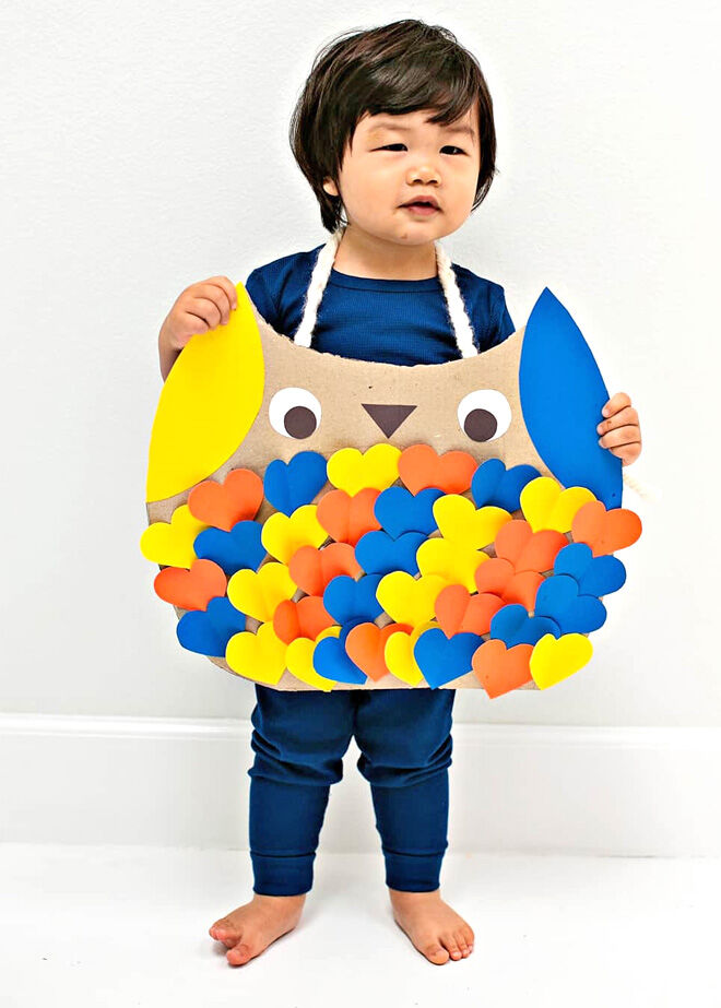 Owl costume for Halloween