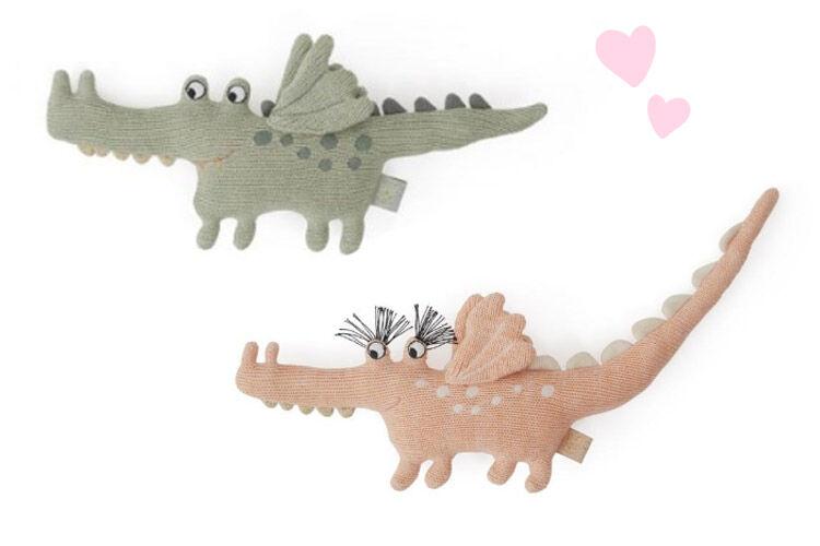 OyOy Crocodile Rattles