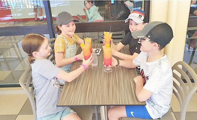 Paradise Resort mocktails for kids