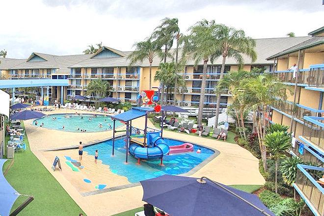 Paradise Resort pools