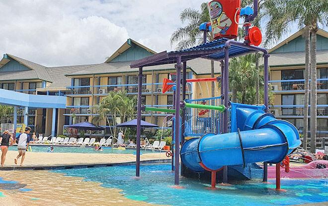 Paradise Resort water area