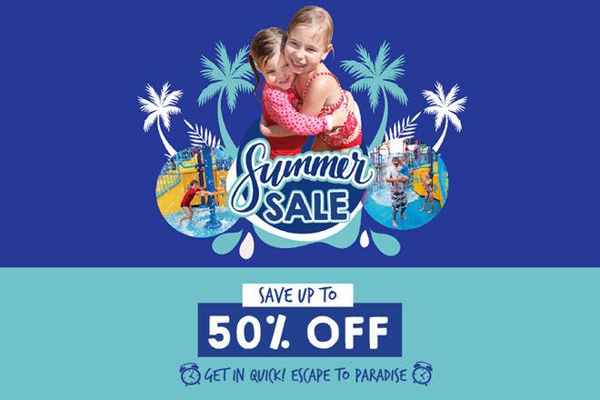 Paradise Resort Summer Sale