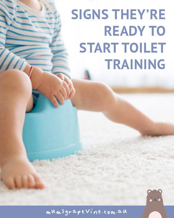 When to start toilet training