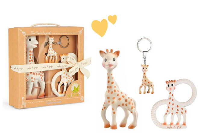 Sophie la Girafe Tri Set