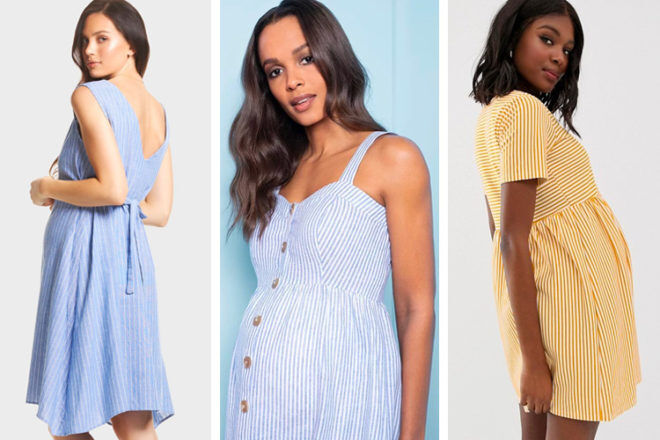 The best striped maternity dresses for 2019 | Mum's Grapevine