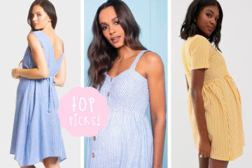 Our favourite striped maternity dresses for 2019 | Mum's Grapevine
