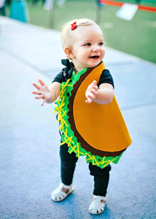 Taco toddler costume