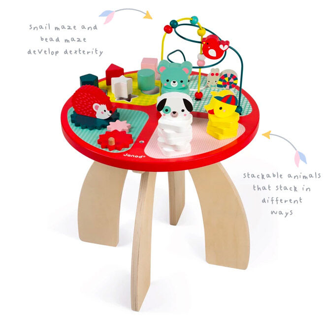 Wooden forest activity table, Janod