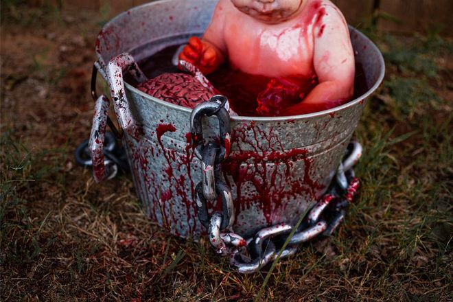 Zombie baby costume Halloween