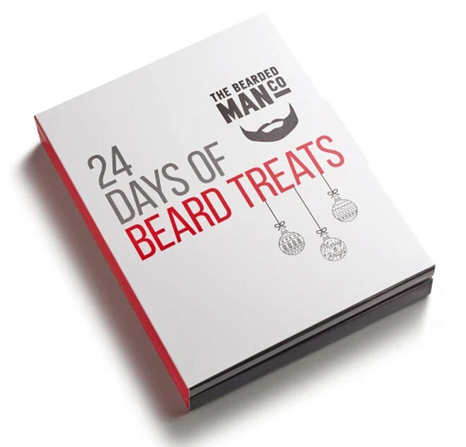 Advent calendar for men with beards