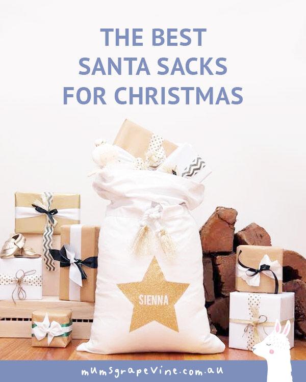 The best Santa sacks for Christmas   Mum's Grapevine