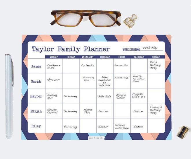 Bright Star Kids Family Planner