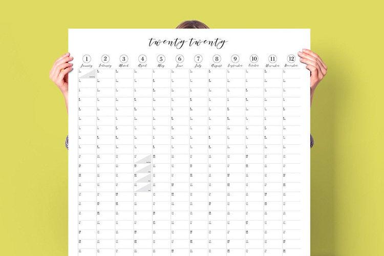 Family Wall Planner, Creative Fix Design