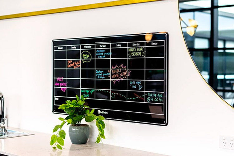 Daily Orders Monthly Wall Planner