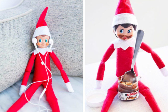 17 easy Elf on the Shelf ideas to try   Mum's Grapevine