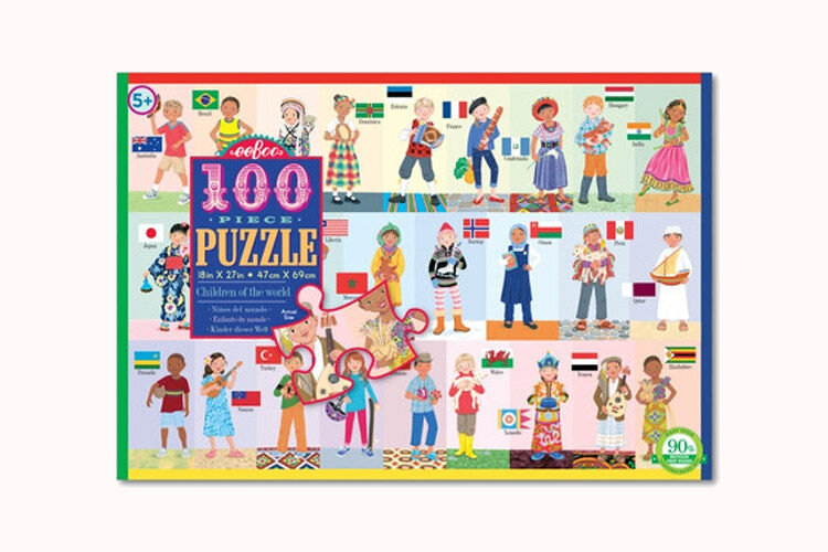 Eeboo Puzzle, People of the World