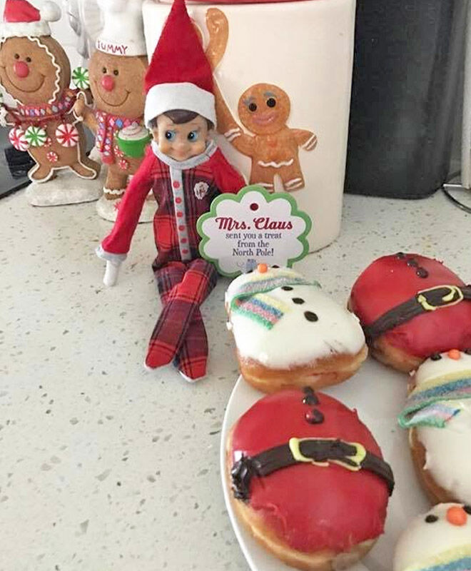 Elf on the Shelf treats from the North Pole