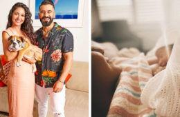 Matty and Sarah Gogglebox baby