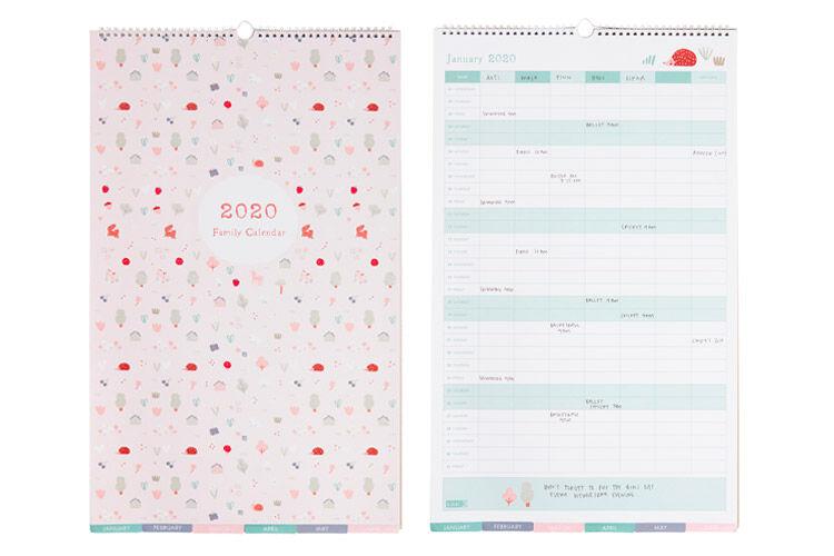 Kikki K Family Wall Calendar