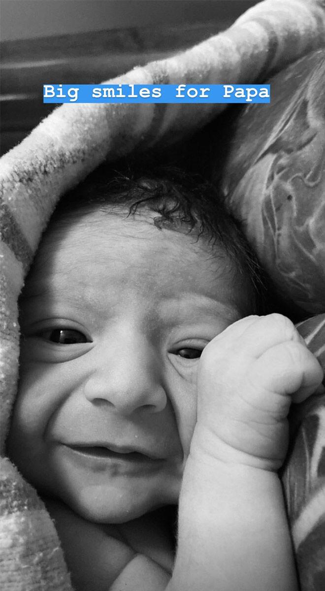 Matty Fahd baby boy