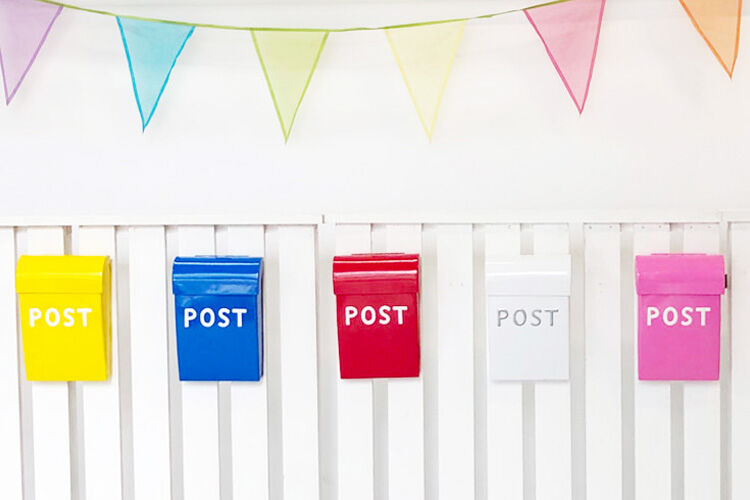 Post Boxes by Carnival Homewares