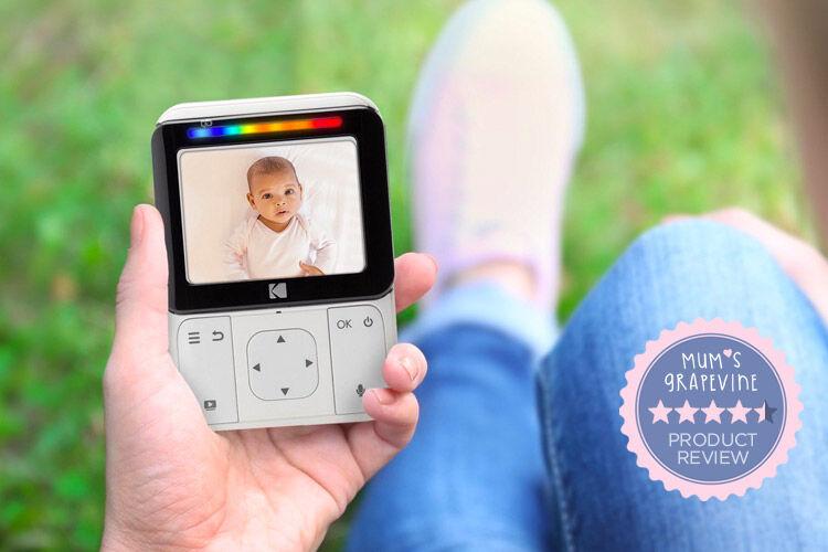 Kodak Smart Video Baby Monitor review | Mum's Grapevine