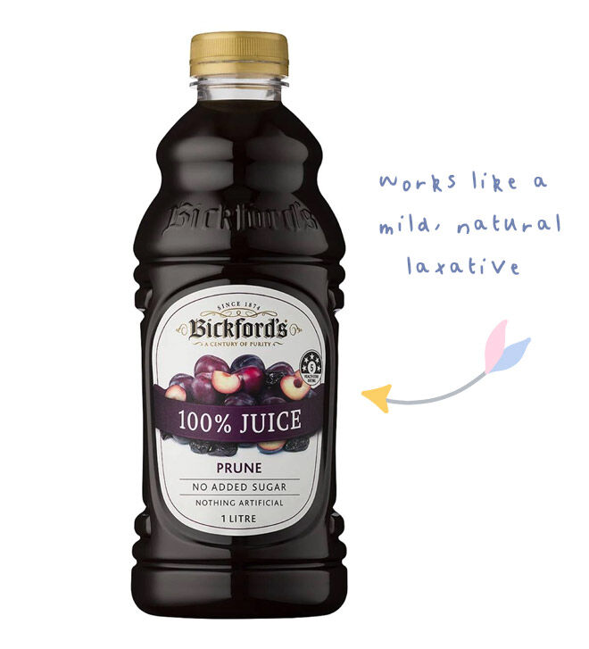 Prune juice for pregnancy constipation