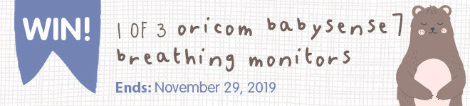 Win an Oricom Babysense7 Breathing Monitor