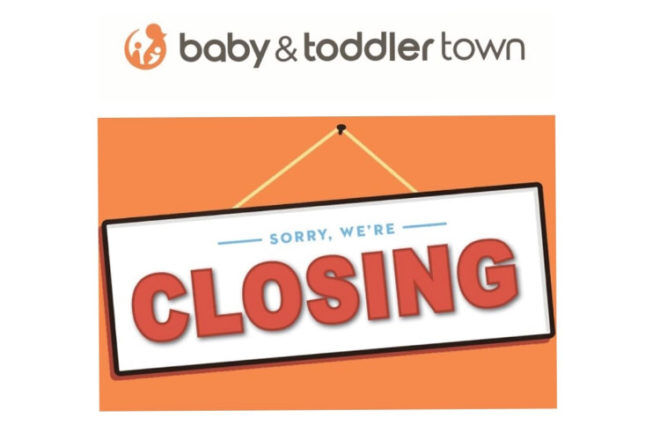 Baby & Toddler Town closing down