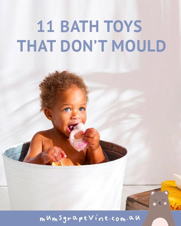 Bath toys that don't mould