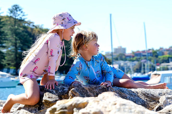 Cheeky Chickadee kids swimwear