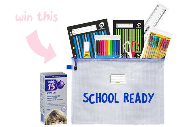Hedrin back to school competition