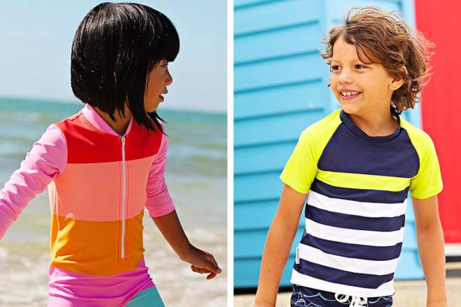 Mini Sandcrabs swimwear