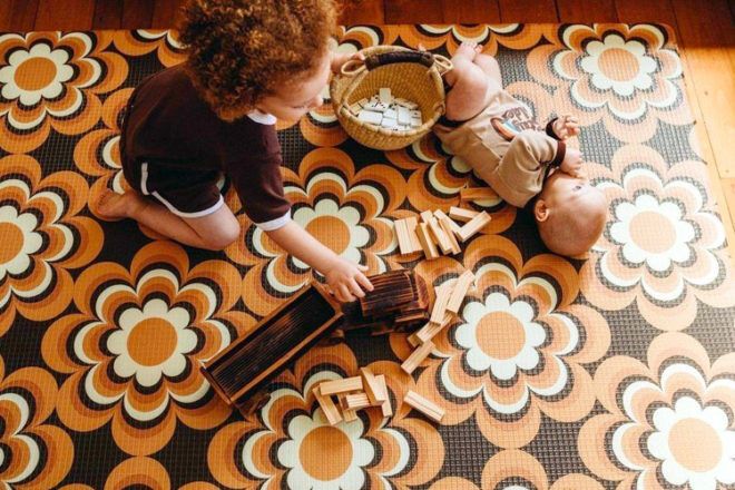 The Young Folk Collective play mat