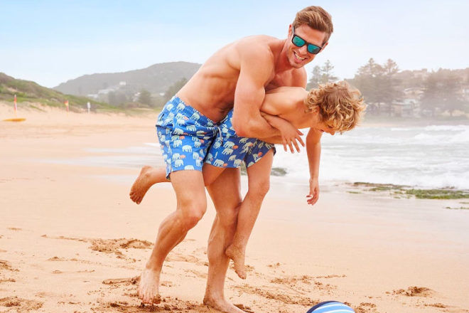Tom & Teddy swimwear for boys