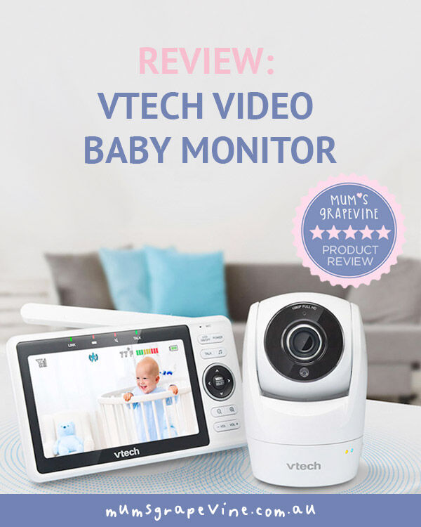 VTech Video Baby Monitor Review | Mum's Grapevine