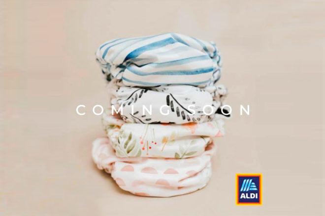 Aldi launches cloth nappies