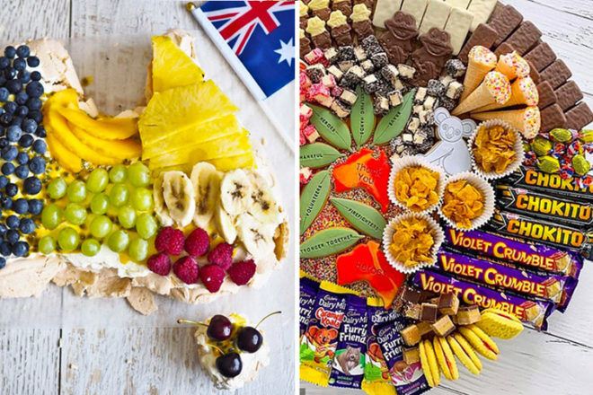 Australia Day Platters