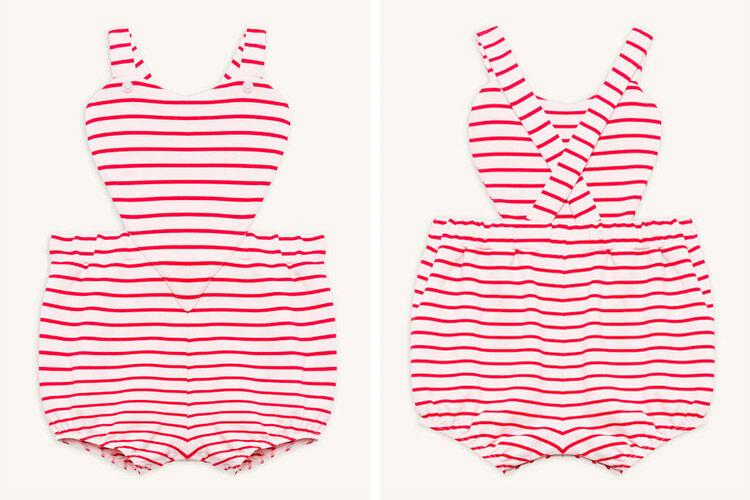 Bardot Stripe Heart Grow