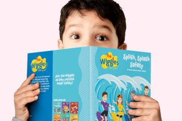 Wiggles books at Big W