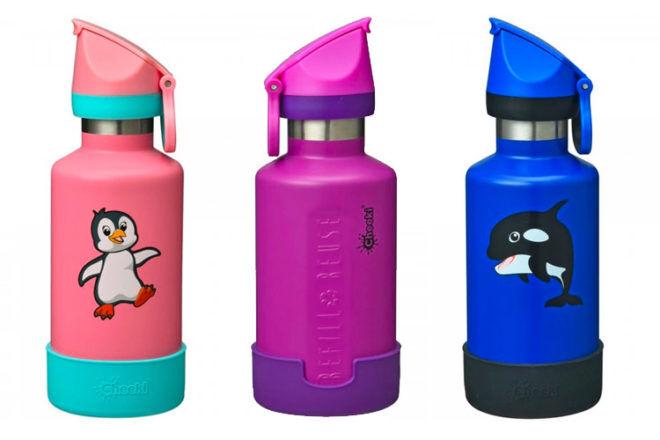 Cheeki kids insulated water bottles