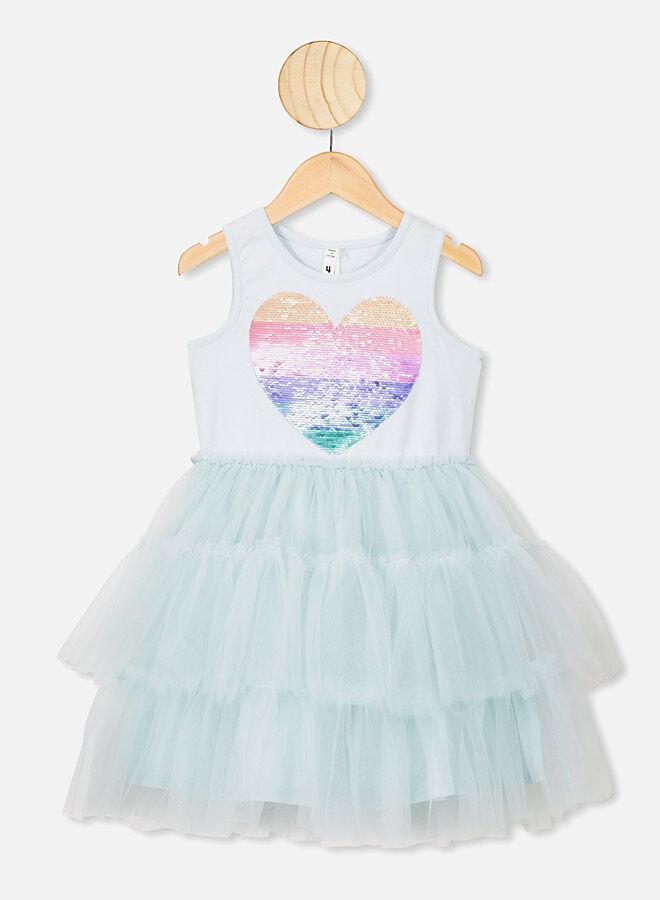 Cotton On Iris Tulle Dress