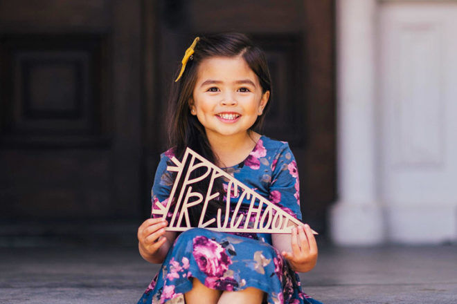 9 sweet signs for the first day of school | Mum's Grapevine