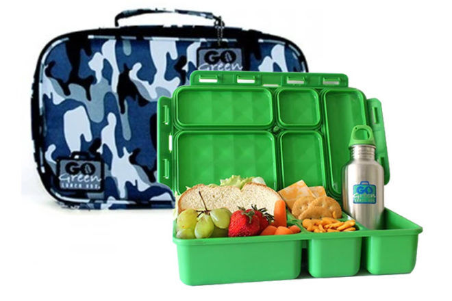 Go Green lunch bento box set