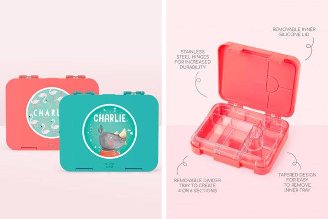 Hippo Blue Bento Lunch Box
