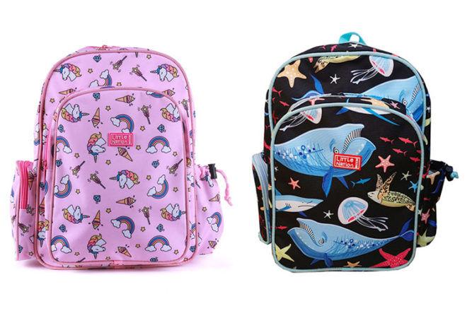 Little Nation school backpacks